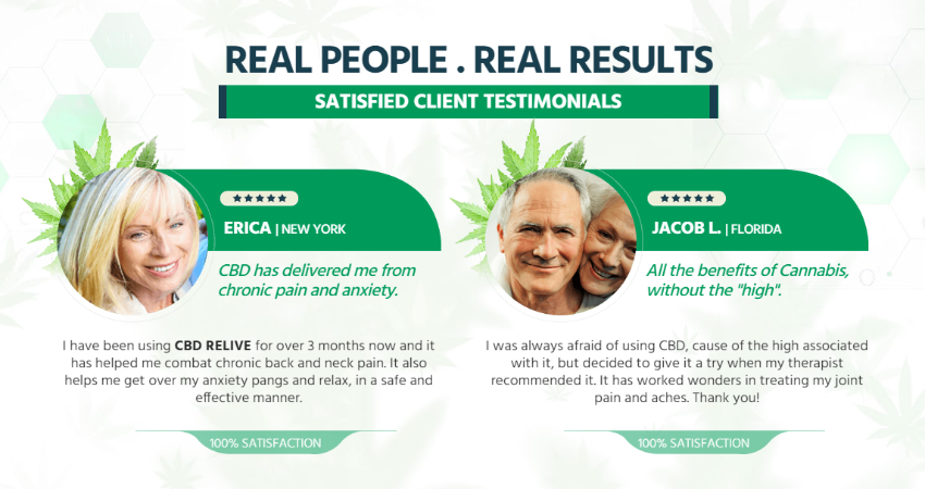 CBD Oil - Real Results